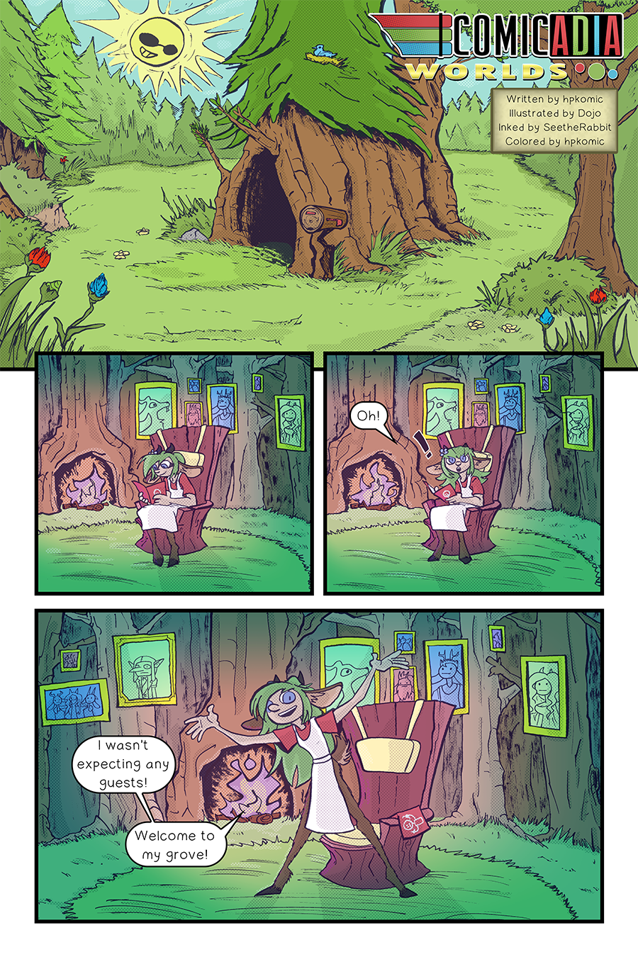 Cadence's Grove – Page One