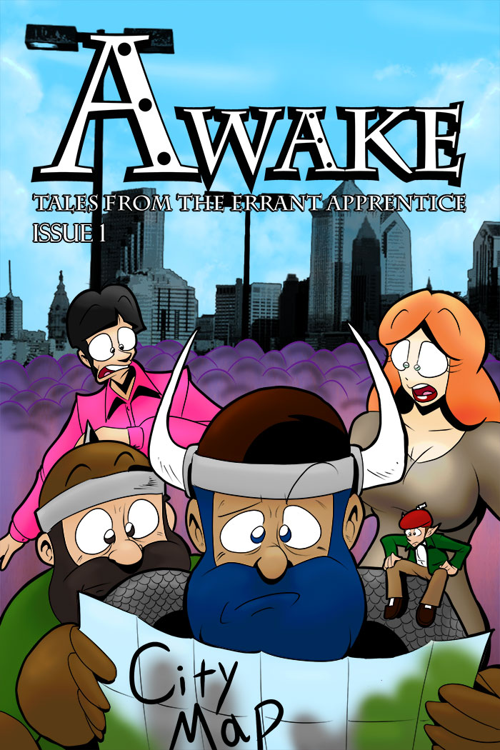 Awake: Tales from The Errant Apprentice – Issue #1
