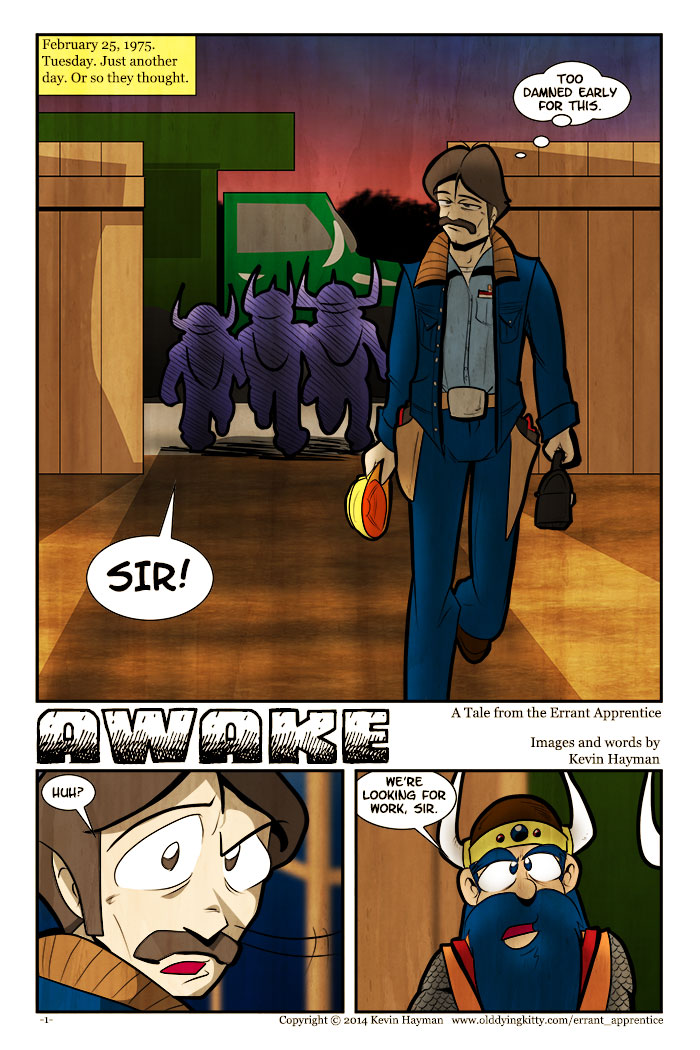 Awake – Issue #1: Page 1
