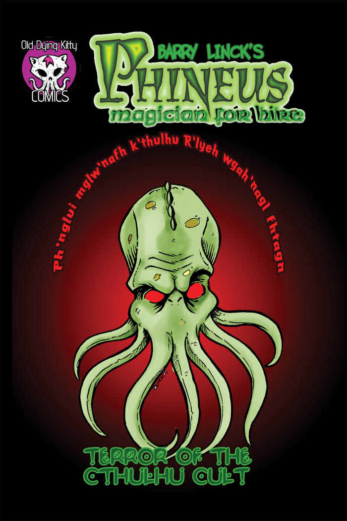 """Terror of the Cthulhu Cult"" – Cover"