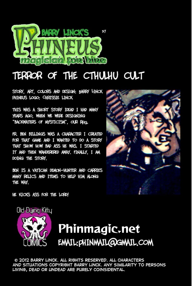 """""""Terror of the Cthulhu Cult"""" – Credits"""