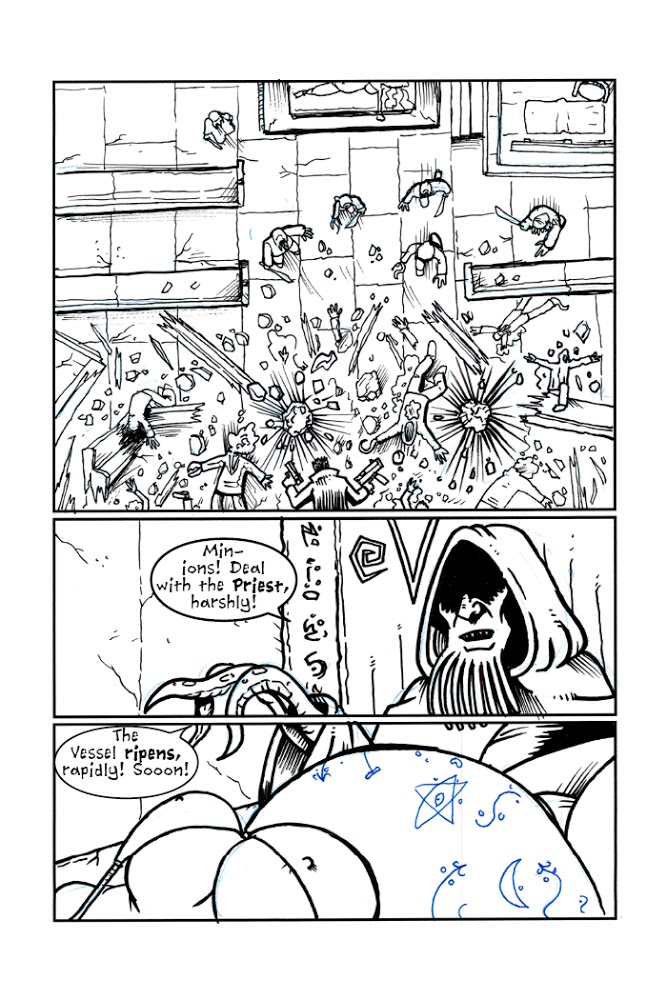 """""""Terror of the Cthulhu Cult"""" – Pg 5"""
