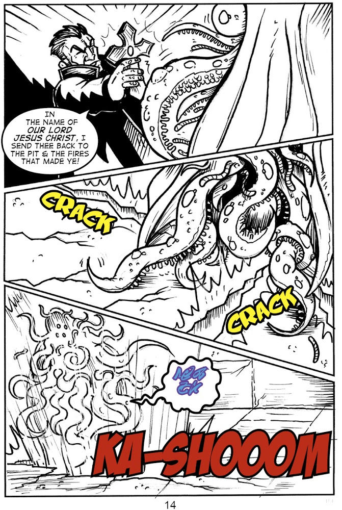 """""""Terror of the Cthulhu Cult"""" – Pg 14"""